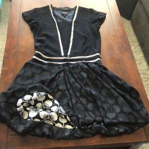 1920's style drop waist dress